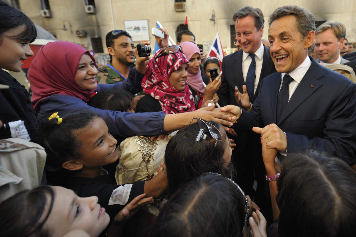 Sarkozy, BHL, Clinton et l'or de Kadhafi