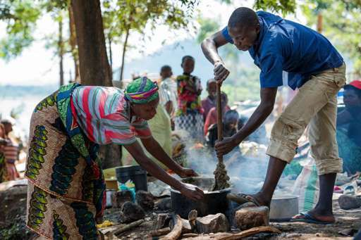 Tanzania takes in huge number of refugees
