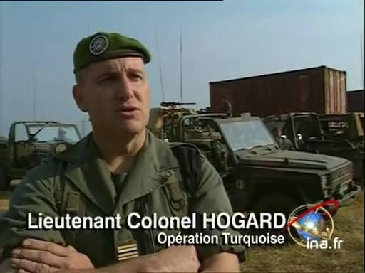 """Dans son livre """"LES LARMES DE L'HONNEUR"""" Jacques Hogard réhabilite l'opération turquoise au Rwanda"""