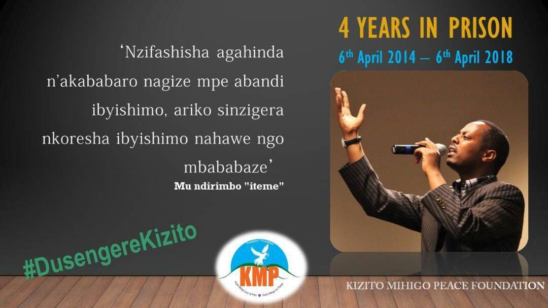 Rwanda: Le chanteur Kizito Mihigo, 4 ans en prison pour avoir dit NON à l'exclusion mémorielle