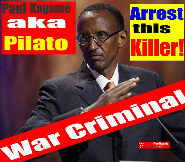 Paul Kagame is responsible for the death of Rwandans,Congolese and Ugandans in Millions