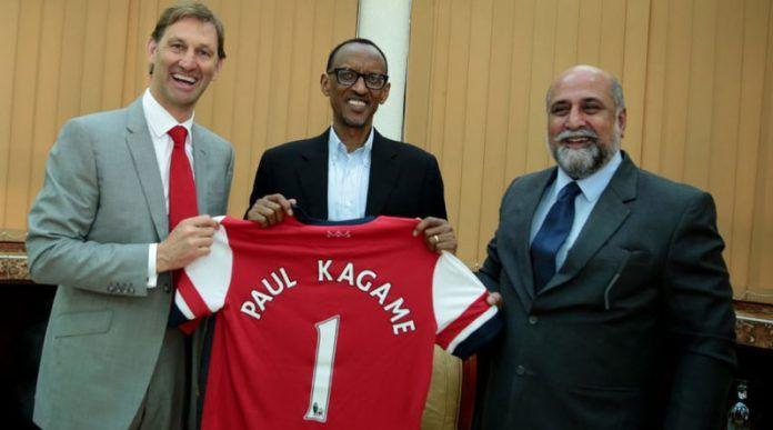 Quand les pauvres sponsorisent les riches: Rwanda et Arsenal FC