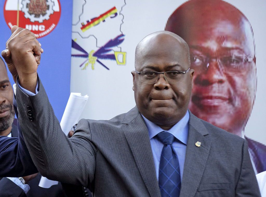 CONGRATULATORY MESSAGE BY THE SADC CHAIRPERSON TO THE PRESIDENT-ELECT OF THE DEMOCRATIC REPUBLIC OF CONGO, MR FELIX TSHISEKEDI