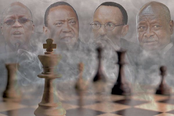 War drums in EAC, or a game of chess?