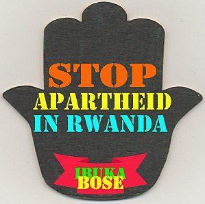 MANIFESTE CONTRE L'APARTHEID ETHNIQUE QUI MINE LA COHÉSION SOCIALE ET MET EN PÉRIL LA PAIX ET L'UNITÉ NATIONALE AU RWANDA