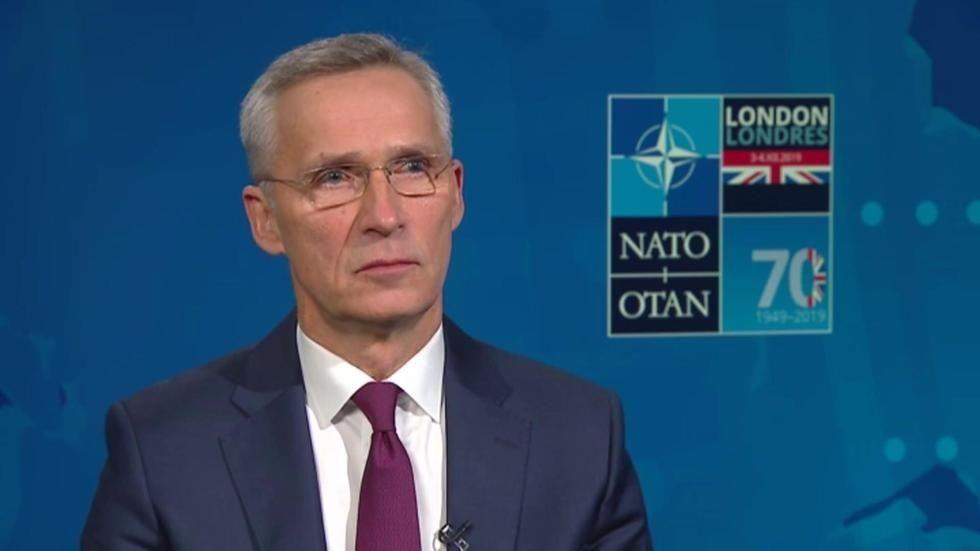 """OTAN: Jens Stoltenberg sur France 24 : """"Les alliés de l'Otan comprennent les défis au Sahel""""."""