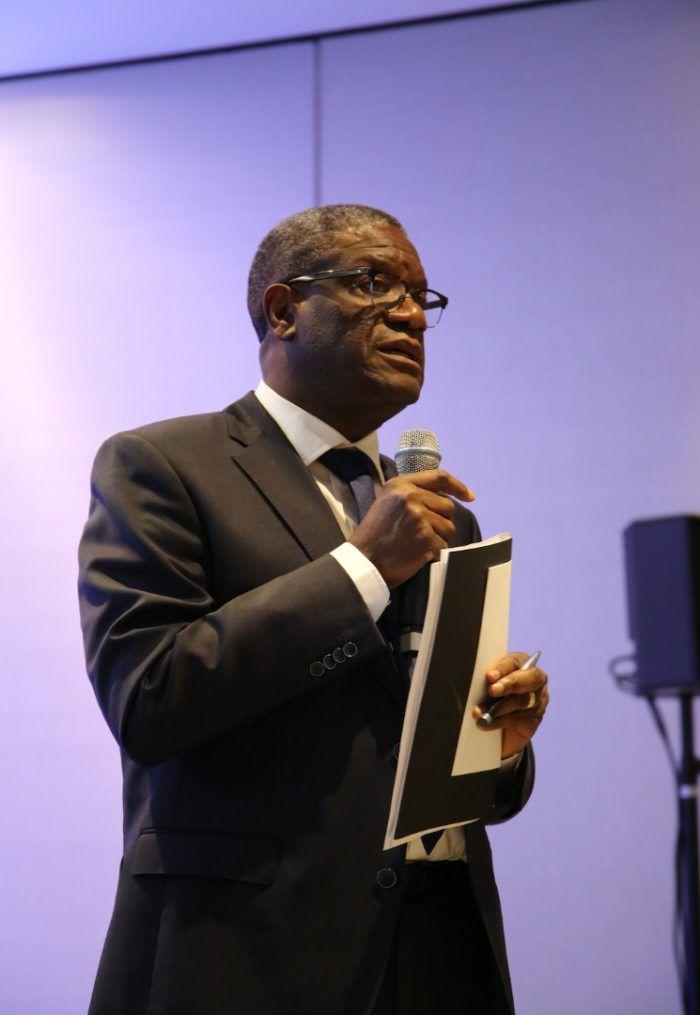 Dr Denis Mukwege, Prix Nobel de la Paix