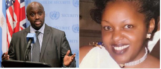 Olivier Nduhungirehe mu mugambi wo gucecekesha Esperance Mukashema.