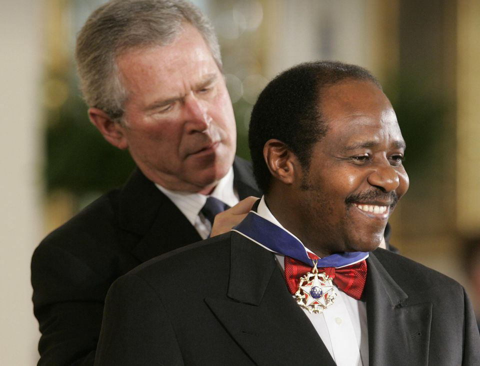 Paul Rusesabagina is not a terrorist, he is a civic, noble, statesman.