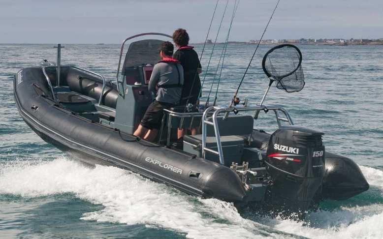 Explorer 690 - Bombard bateau semi-rigide