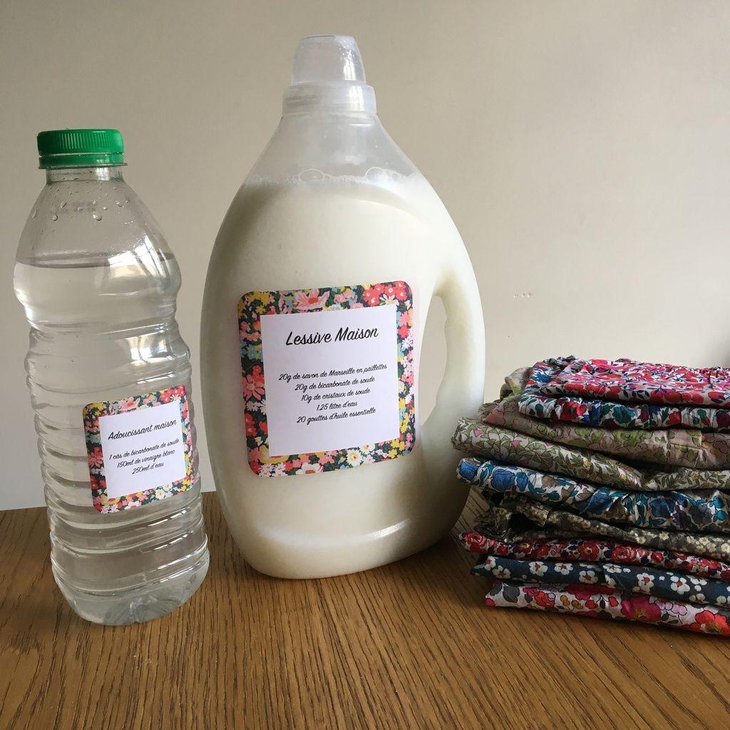 Cristaux De Soude Nettoyage ma recette de lessive et adoucissant maison - le blog de