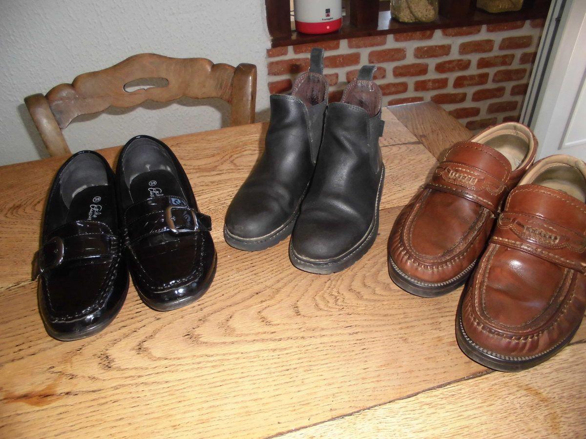 les chaussures : nubuck, cuir ou synthétique