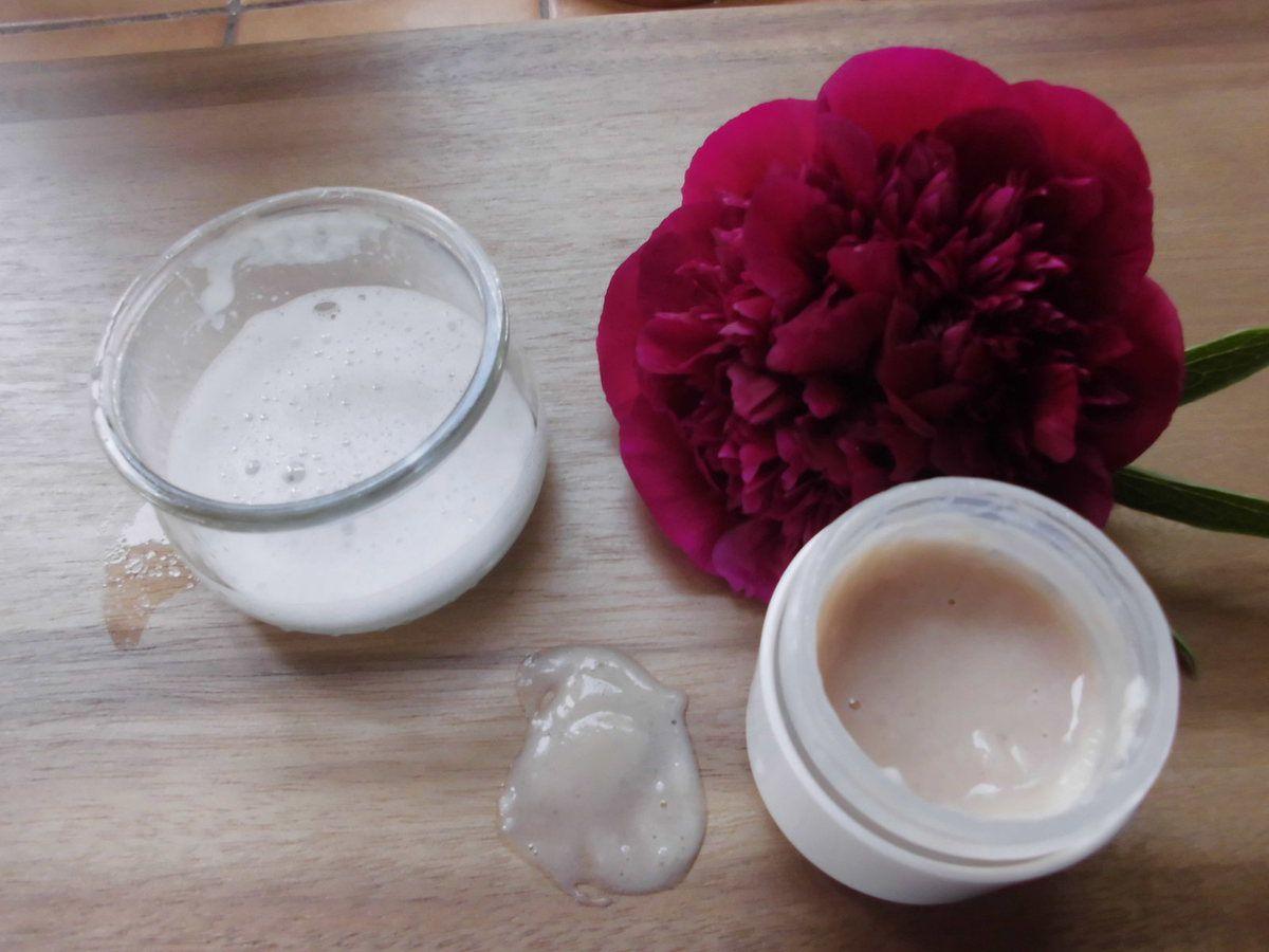 shampoing crème hydratant  aux fruits, 13% de tensio actifs .. et de la mousse