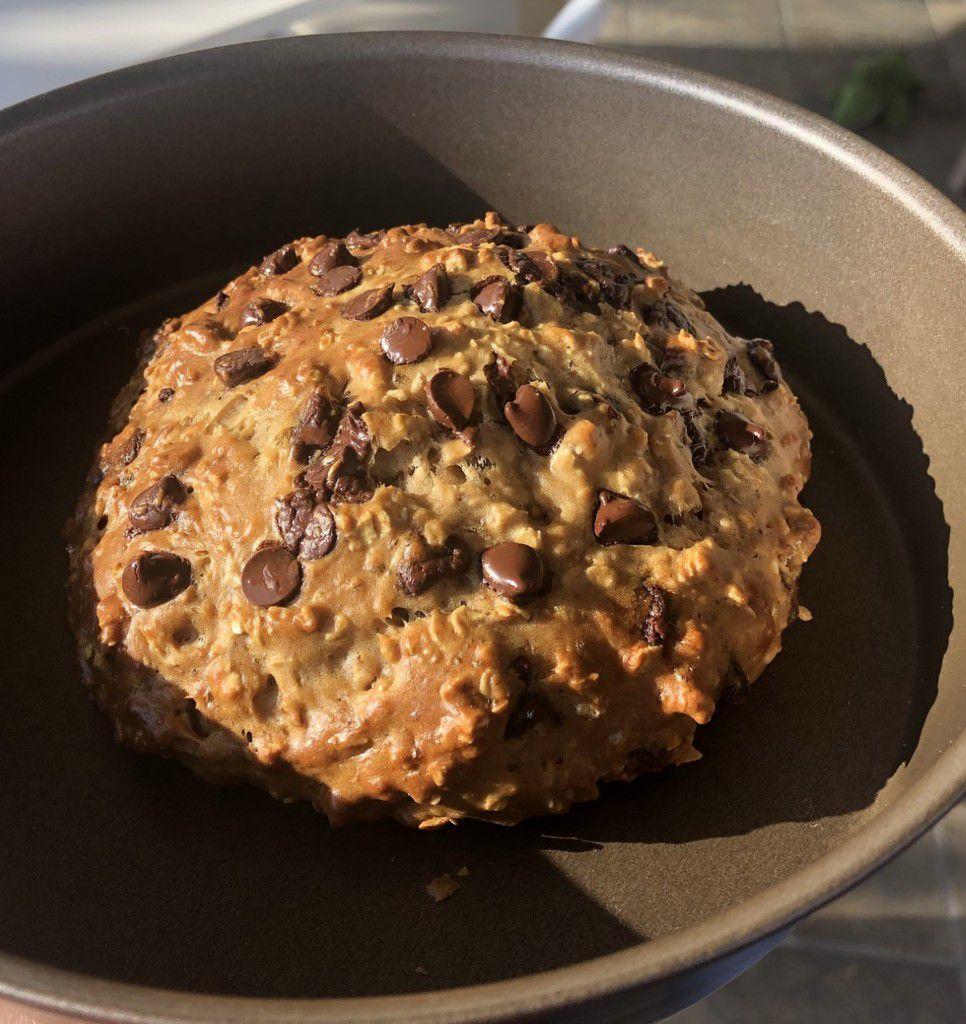 Briochette healthy aux pépites de chocolat