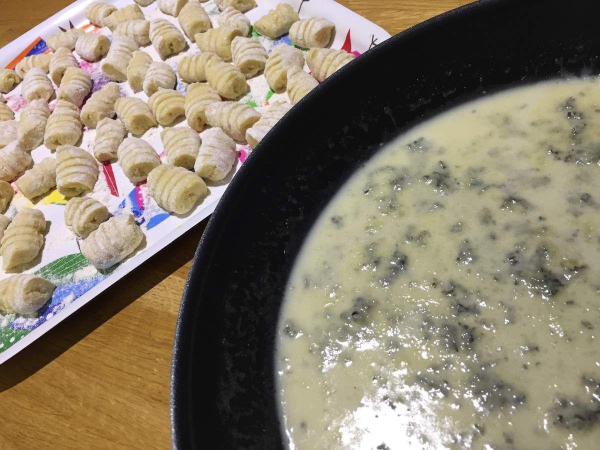Gnocchi alla fonduta di gorgonzola