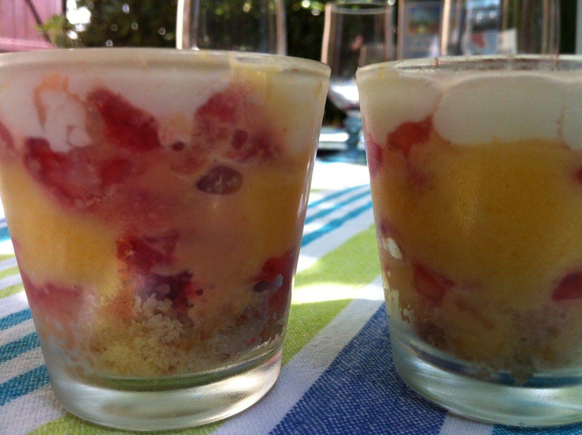 Trifle aux fraises de Chiara