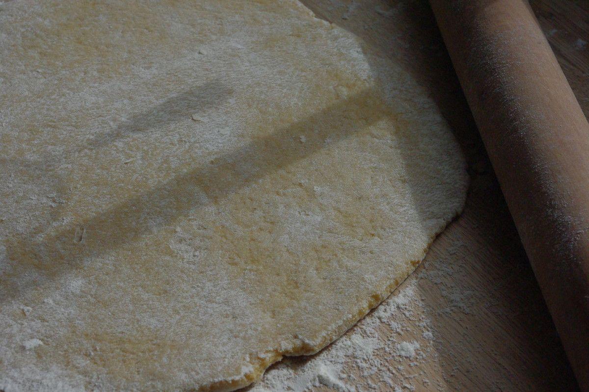 Pasta frolla all'olio di oliva
