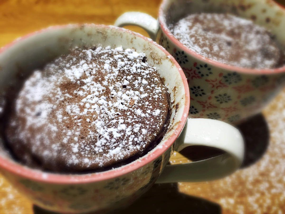 Mug cake minute au micro-ondes