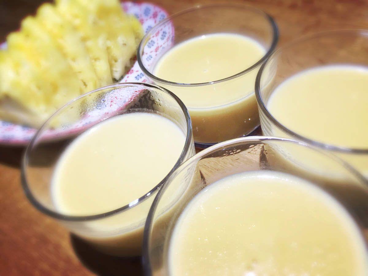 Crème à l'ananas