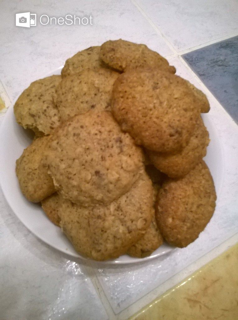 COOKIES FLOCONS D'AVOINE/ NOIX/ CHOCO...