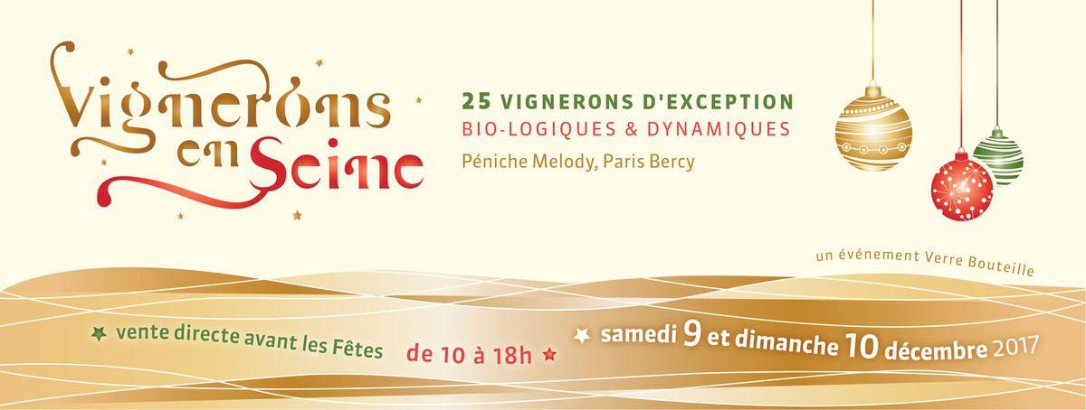 Vignerons en Seine, 9 & 10 décembre 2017