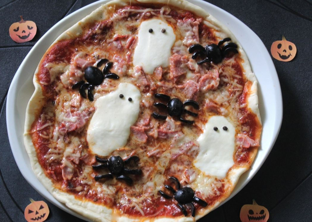recettes pizza halloween. Black Bedroom Furniture Sets. Home Design Ideas
