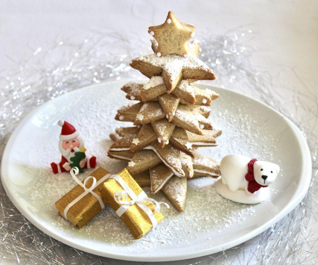 Decoration Biscuit Noel.Sapin De Noël En Biscuits Le Pays Des Gourmandises