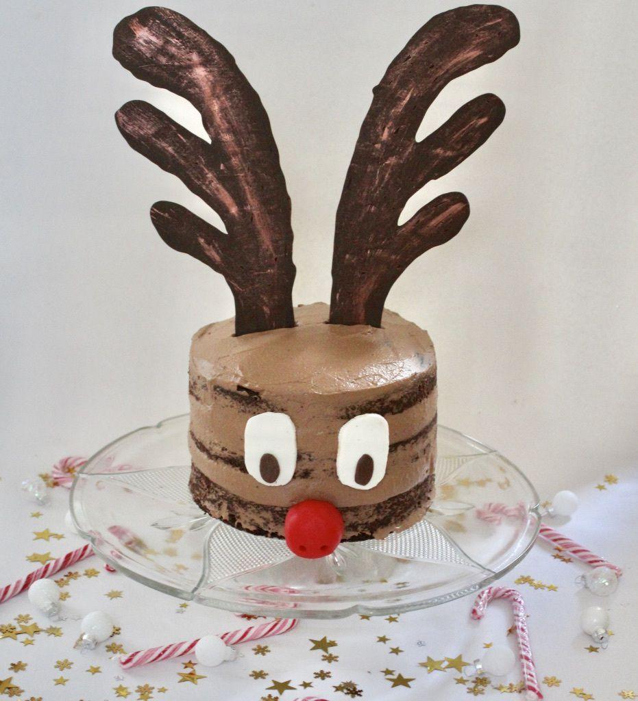 Nude Cake Renne De Noel Le Pays Des Gourmandises