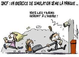 Avoir un train d'avance...