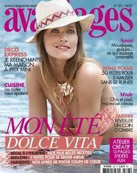 """Couverture magazine """"Avantages"""" aout 2015"""