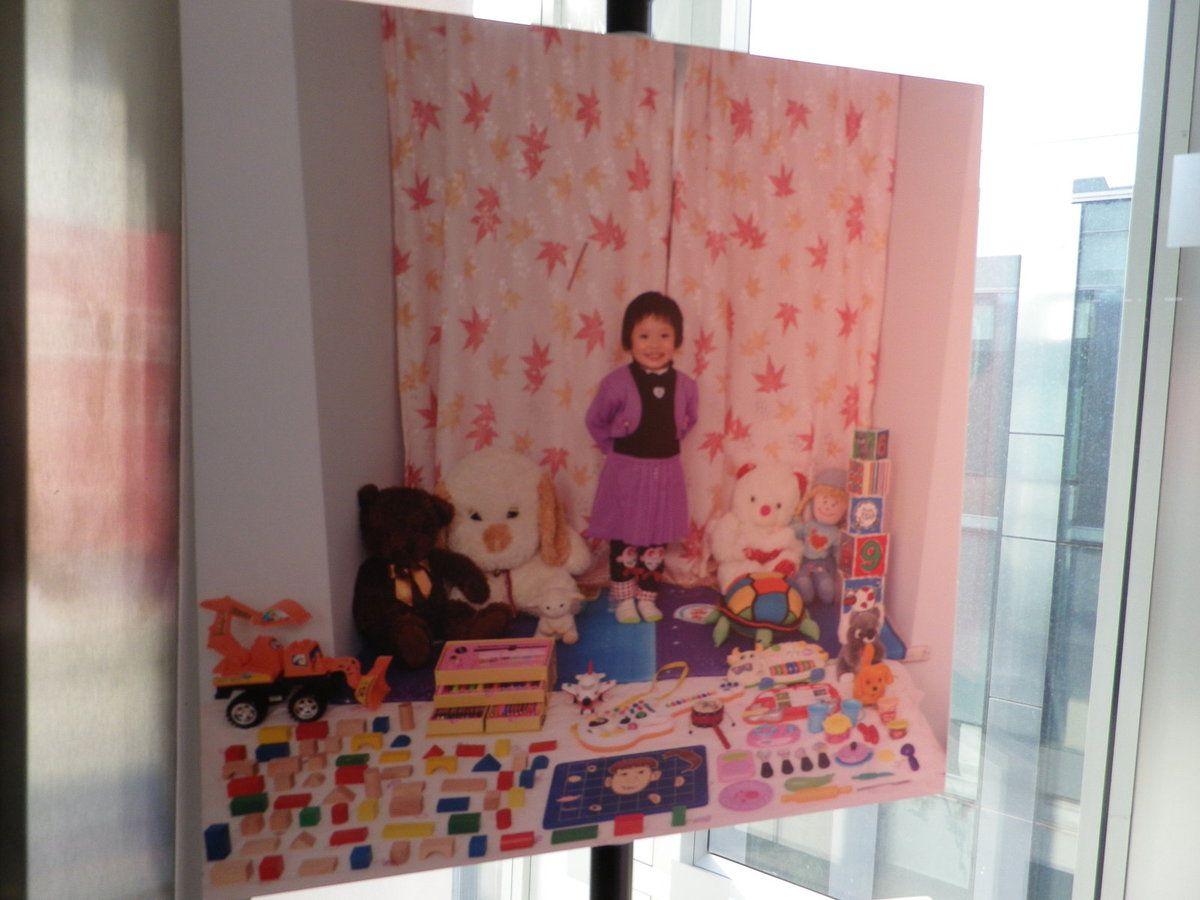 Exposition photos enfants des villes dans leurs chambres