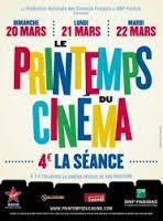 Affiche du Printemps du cinéma 2017