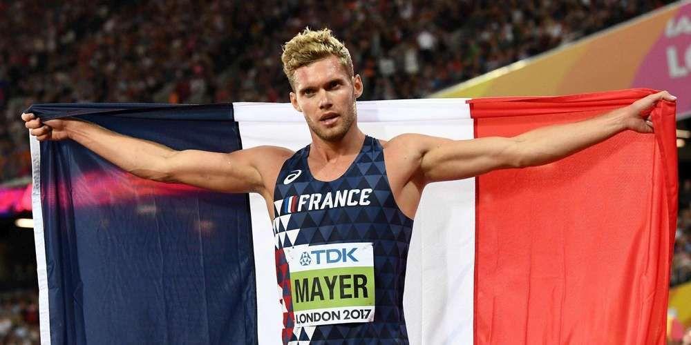 Kevin Mayer, champion du monde de décathlon (Londres 2017)