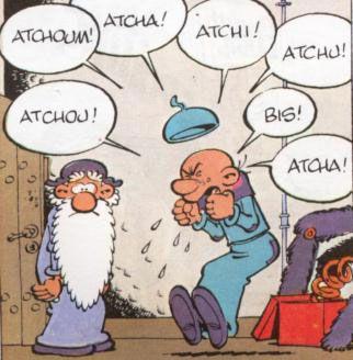 Atchoum Atchi atcha etc!