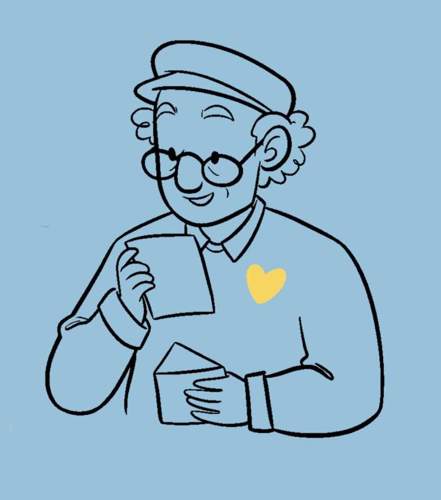 """Image du site """"1 lettre, 1 sourire"""""""