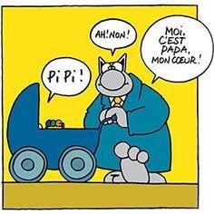 Pipi/Papa le chat de Geluck