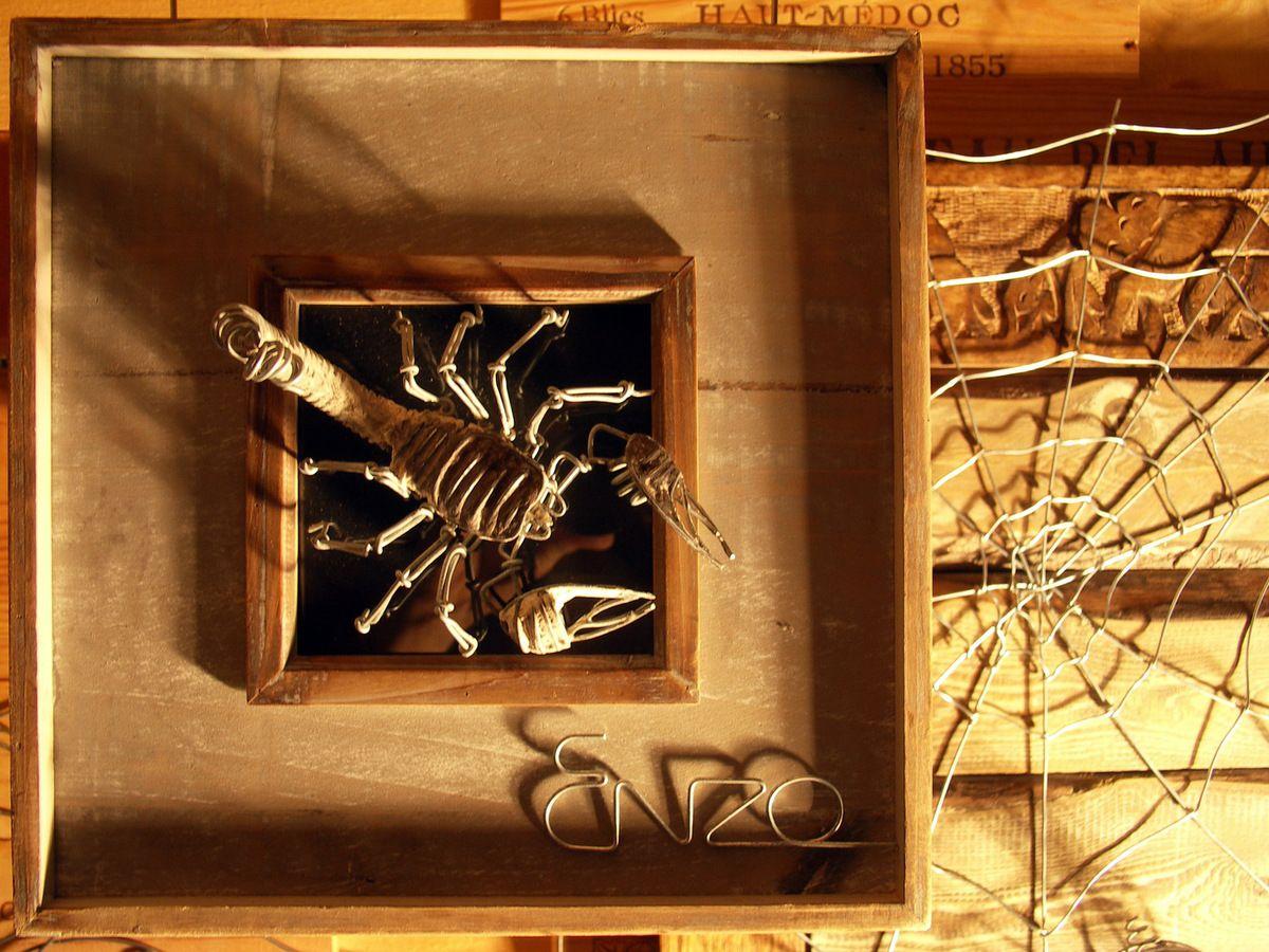 Le carré du scorpion