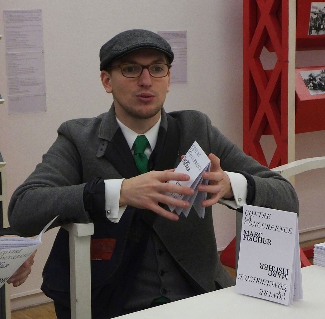 antoine lefevbre éditions présente 'contre la concurrence' de Marc Fischer