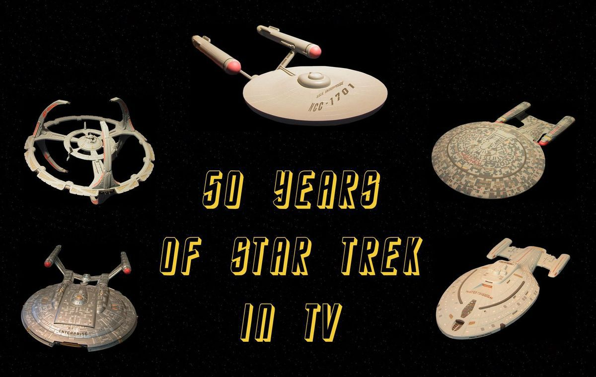 50 years of Star-Trek in television is a remarkable for the whole mankind