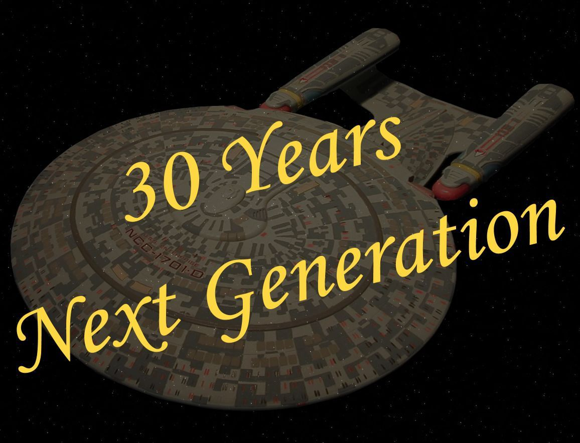 30 years Star Trek: The next Generation