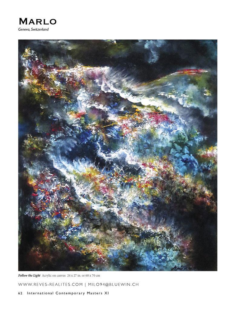 mes tableaux dans le livre et la galerie World Wide Art -Artavita gallery à Art Miami