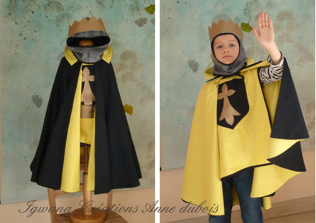 Déguisements de janvier:Capes de pirate ou de chevalier, robes de marquise et robe médiévale