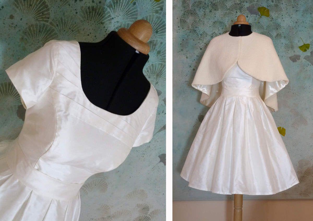 Robe de mariée courte Virginie