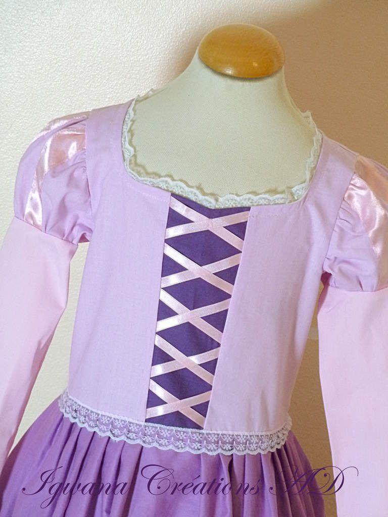 déguisement Robe de Raiponce