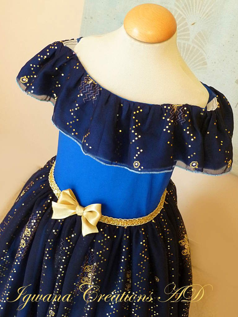 Robe Victoria étoilée version mousseline