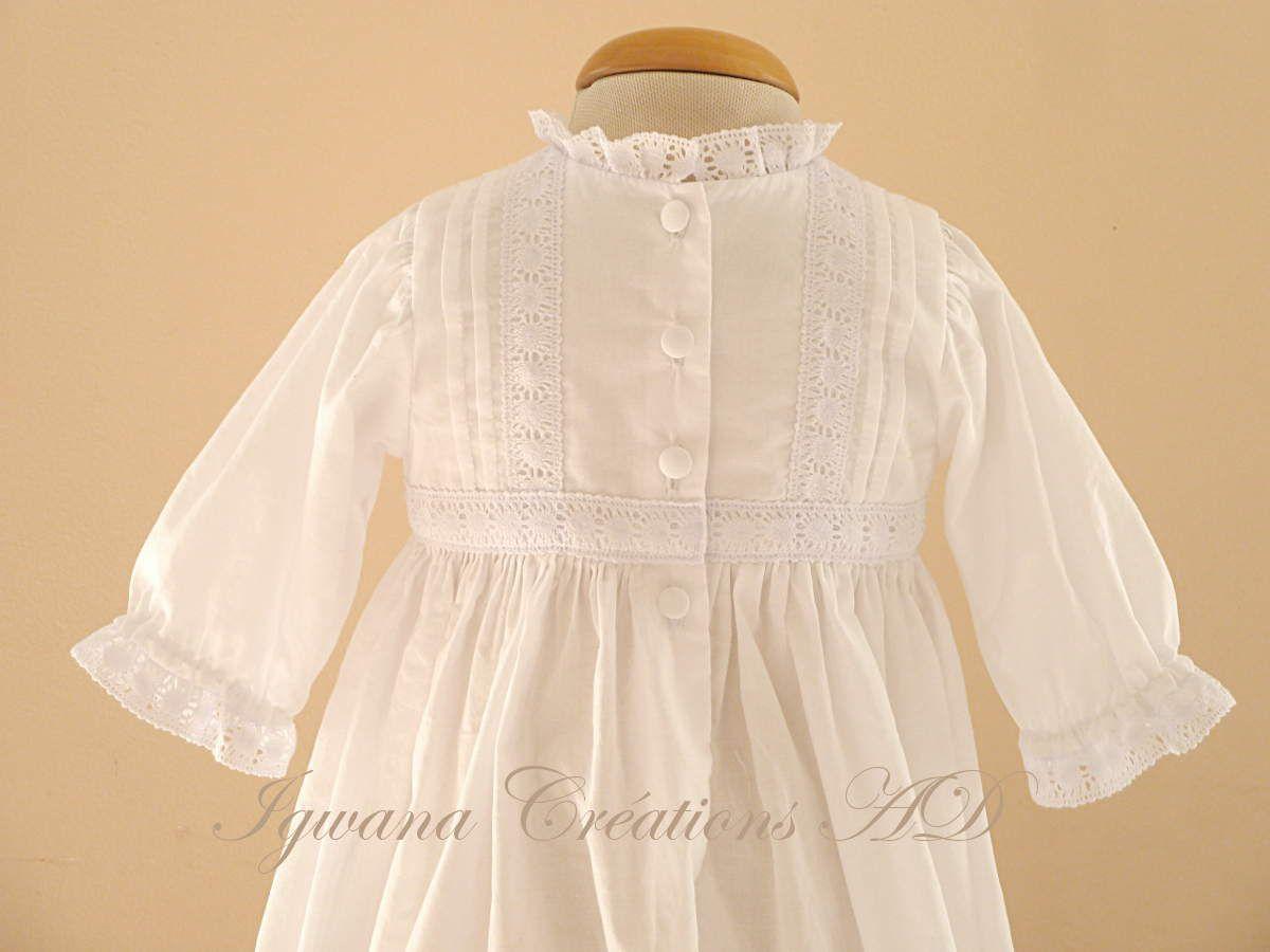 robe de baptême Camille