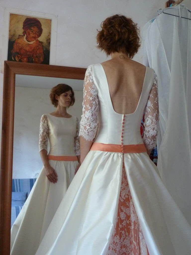 robe Alicia Jour J