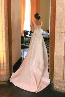 robe Anne R, jour J