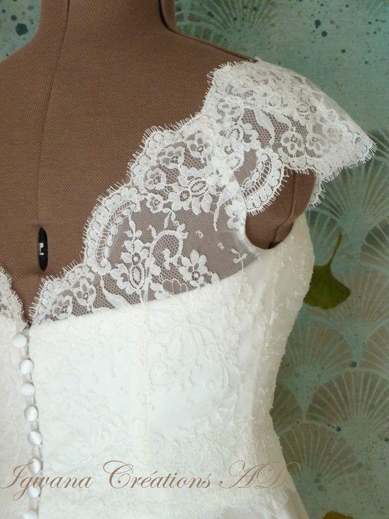Robe Maud: robe courte en satin duchesse