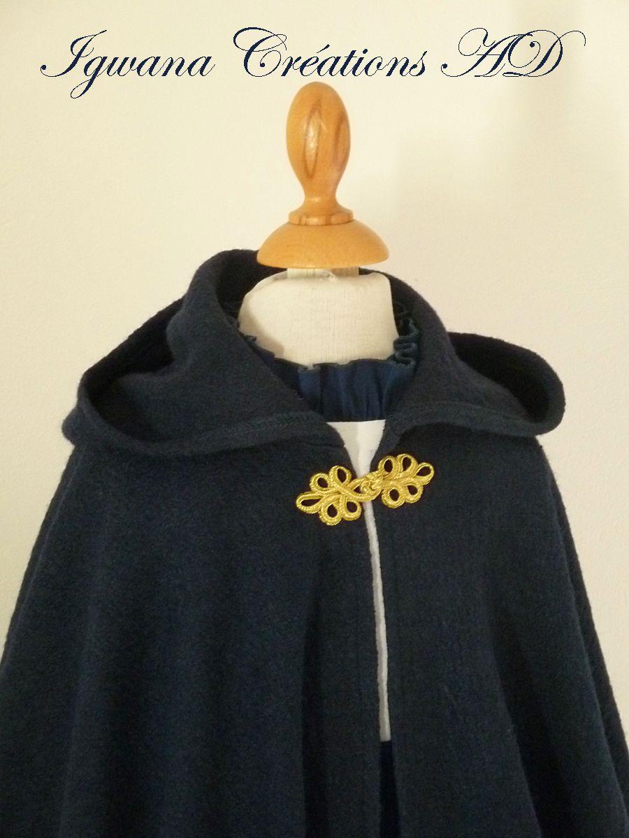 cortège d'hiver: robe Bérangère et capes